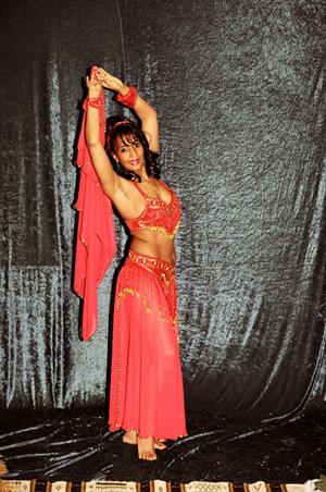 Samoora an Arab of Origin has been dancing to Arab music since she was
